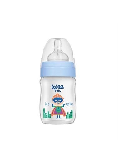 Wee Baby Wee Baby Klasik Plus Geniş Agızlı Pp Biberon 150 Ml 135 Mavi